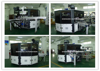 CE ISO Flat Screen Printing Machine For Plywood Rule Lighter Cup Tube
